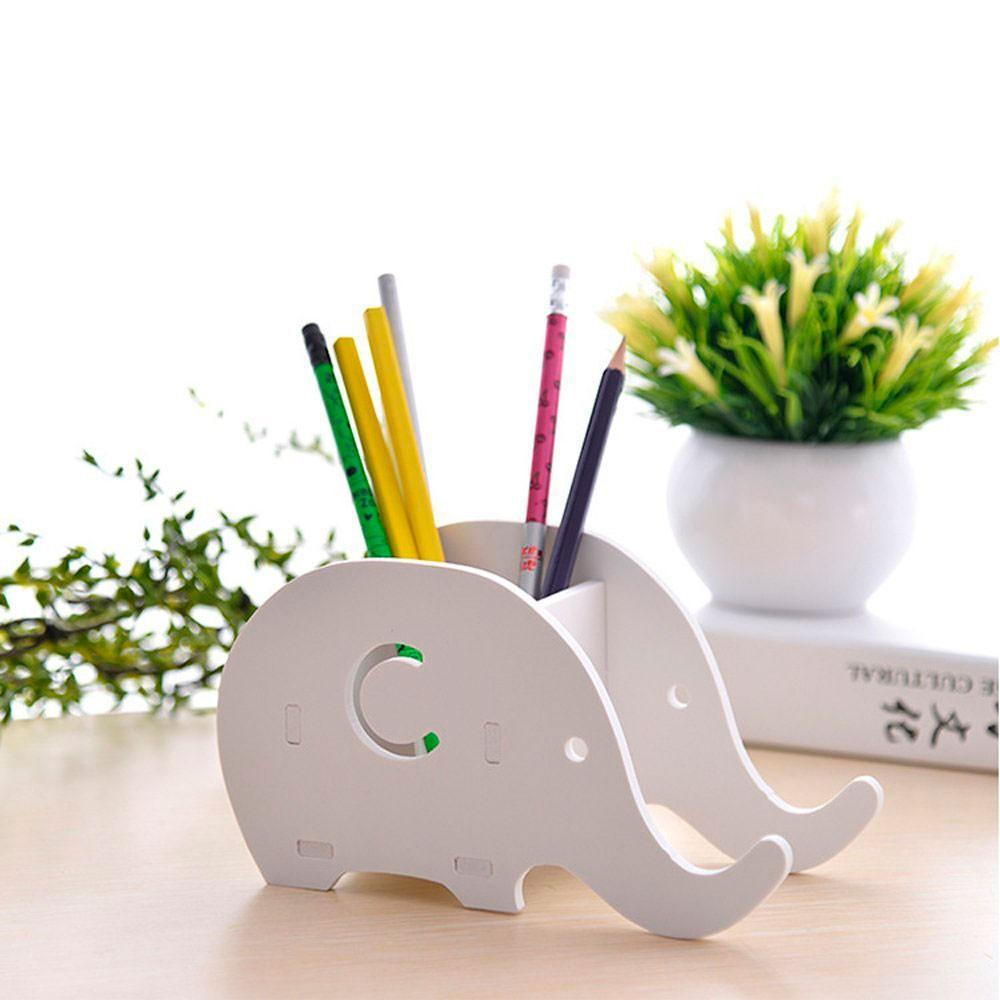 Accesorios de escritorio de elefantes