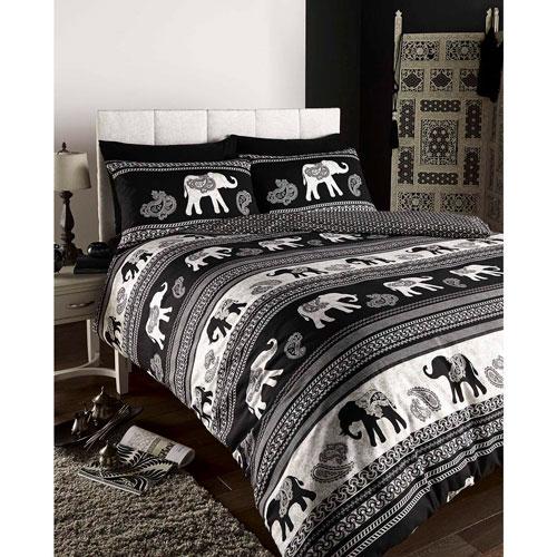 Juego de ropa de cama de elefantes