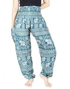 pantalones harem de elefantes